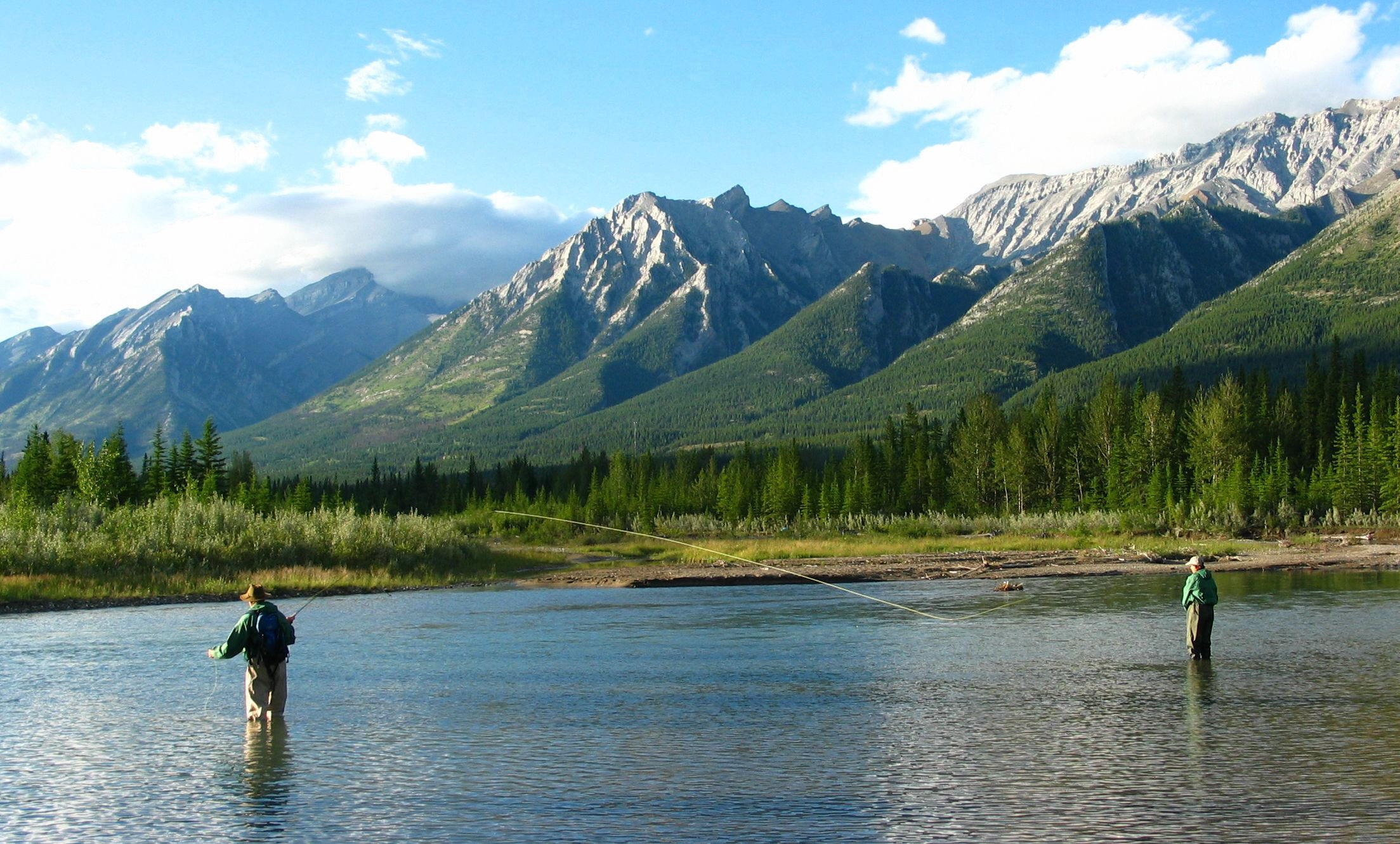 Banff fly fishng guides welcome to guided fly fishing for Fly fishing photography